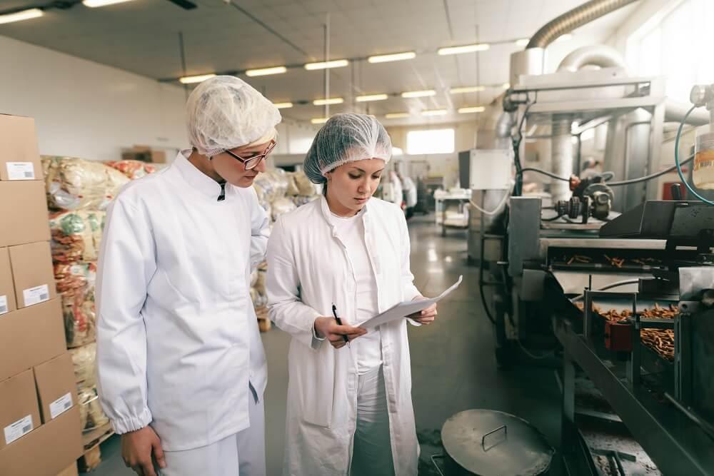 apprentie en qualité entreprise agroalimentaire